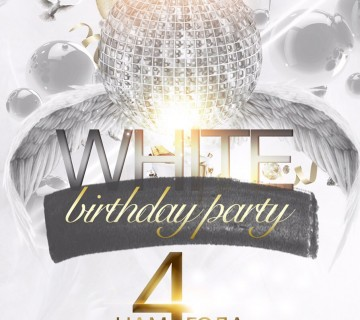 WHITE BIRTHDAY PARTY